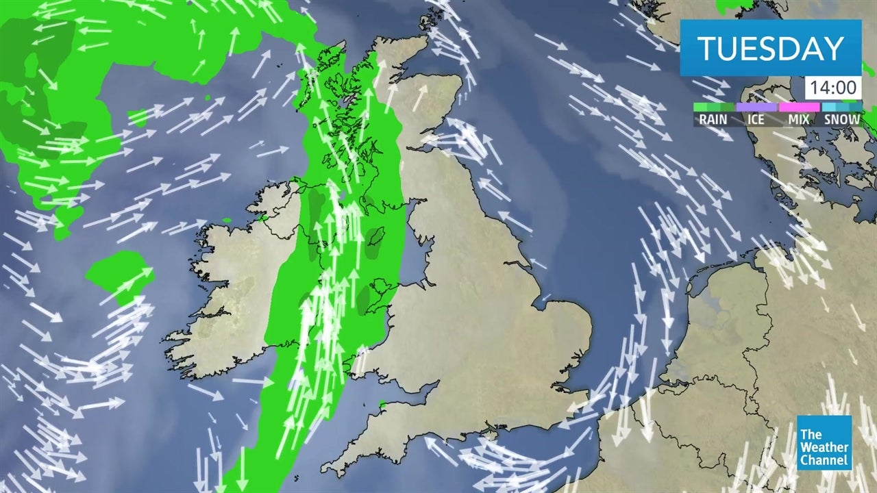 WATCH: Latest UK weather forecast from April 30