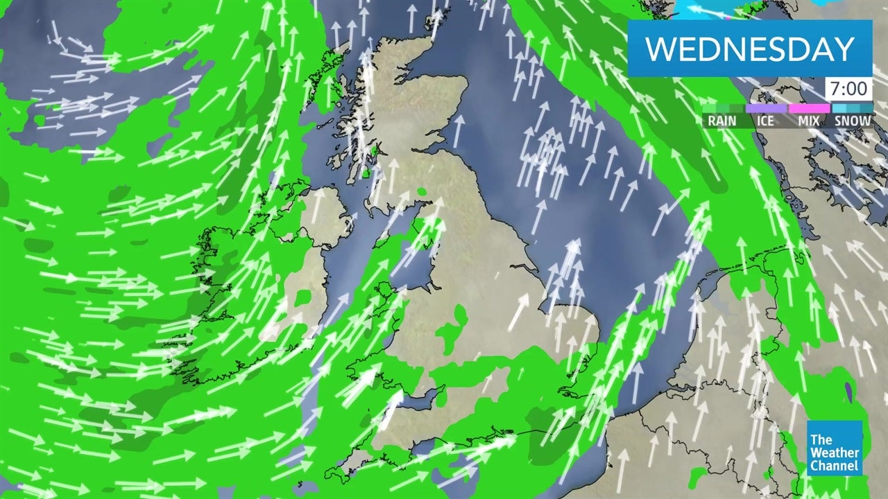 LATEST: UK weather forecast video - December 19