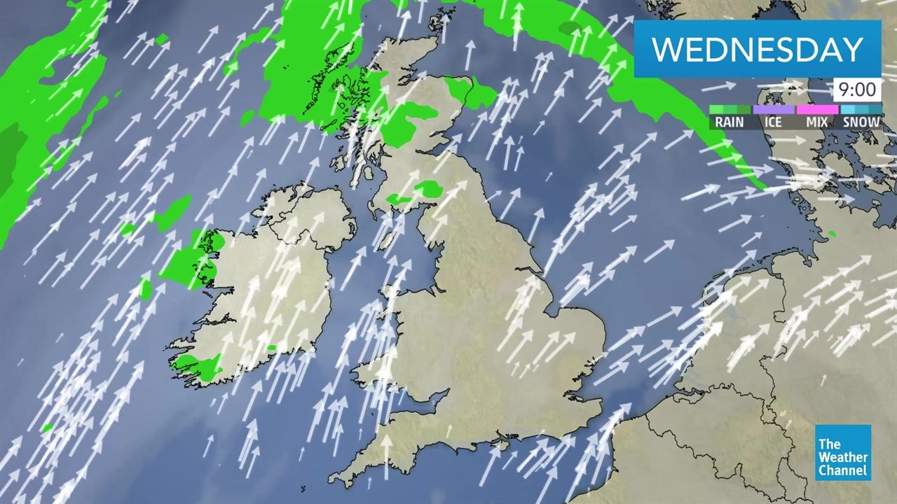 Today's latest UK weather forecast on February 13   The Weather
