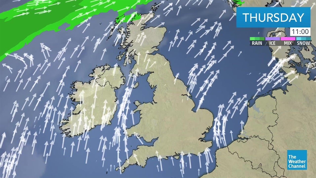Today's UK weather forecast - February 14
