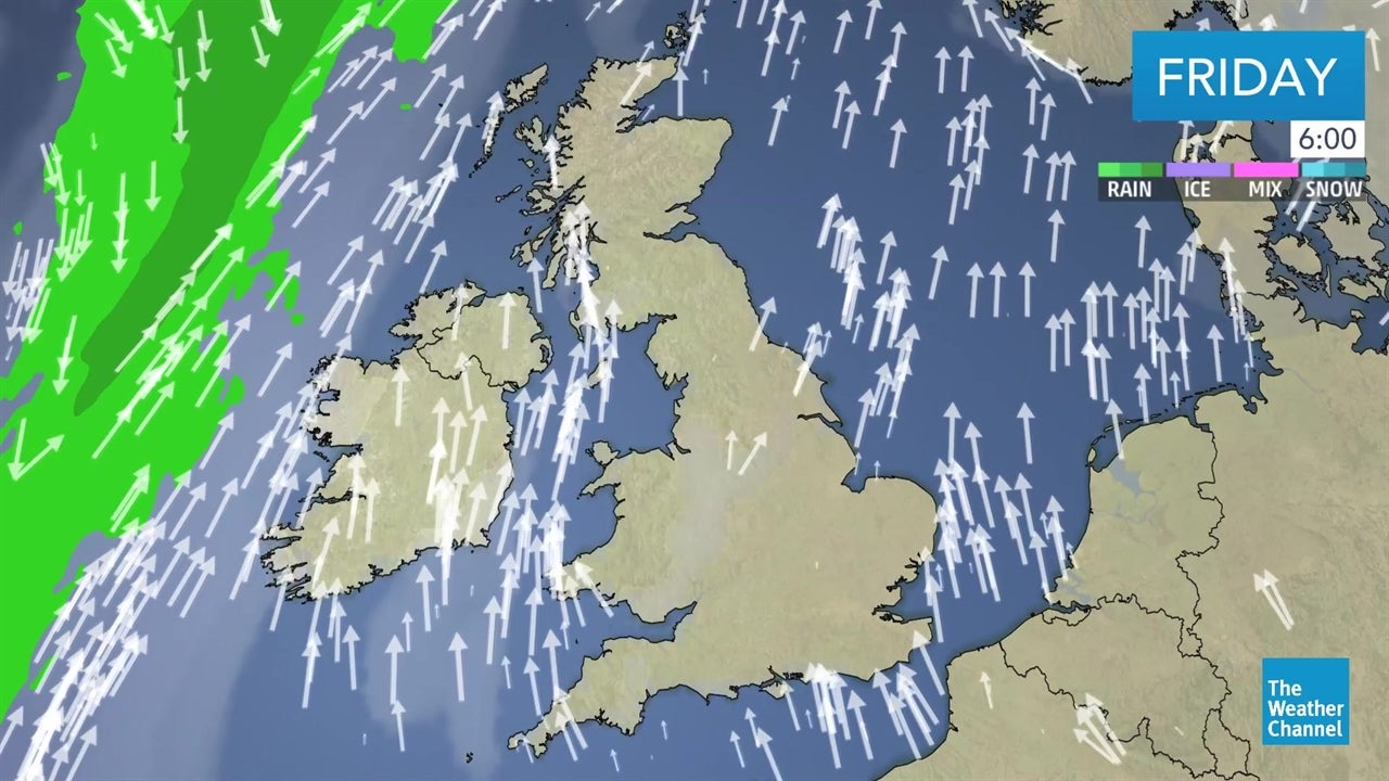 WATCH: UK weather forecast for February 15