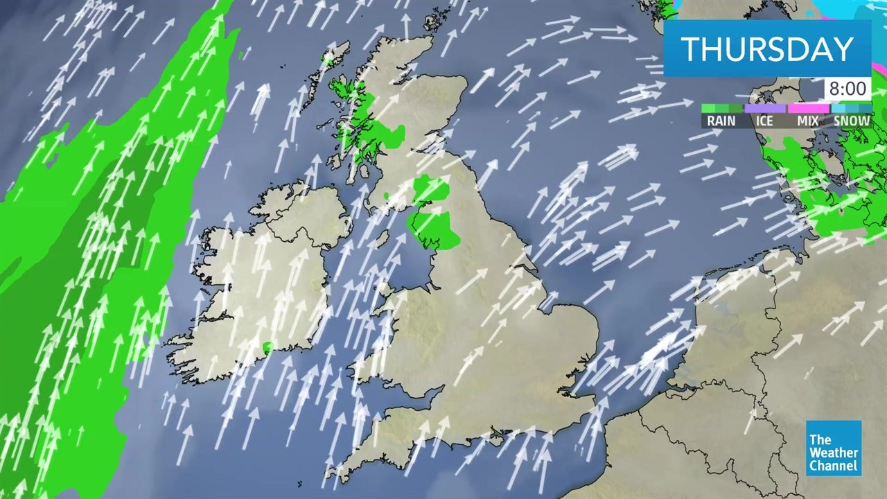 Latest UK weather forecast - February 21