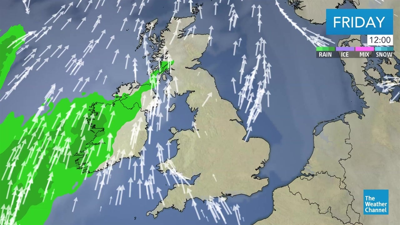 LATEST: UK weather forecast - February 22