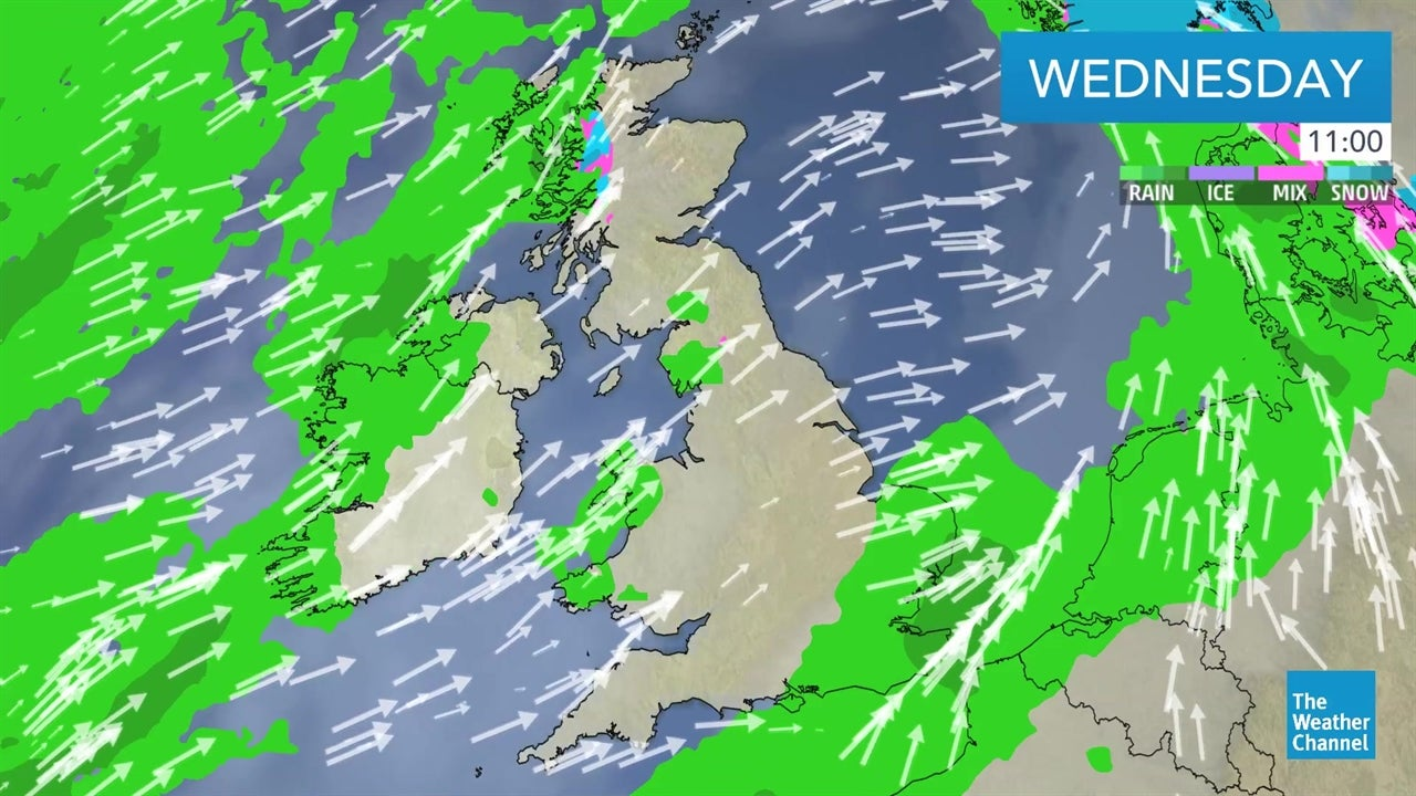 WATCH: Today's UK weather forecast   February 6   The Weather Channel