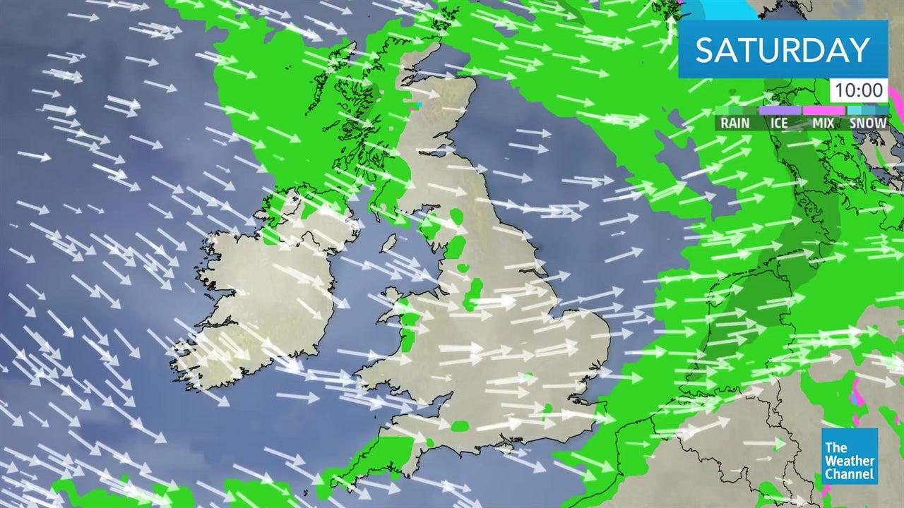 VIDEO: Latest UK weekend weather outlook