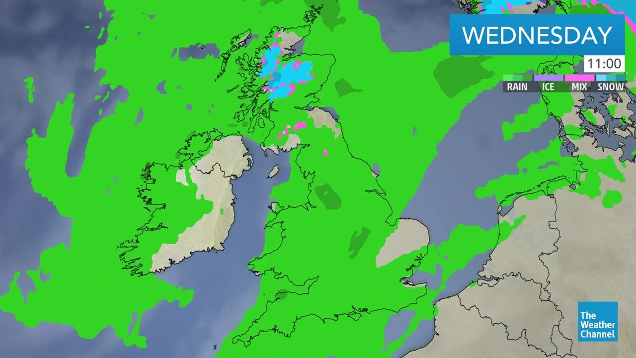 WATCH: Latest UK weather forecast on January 16