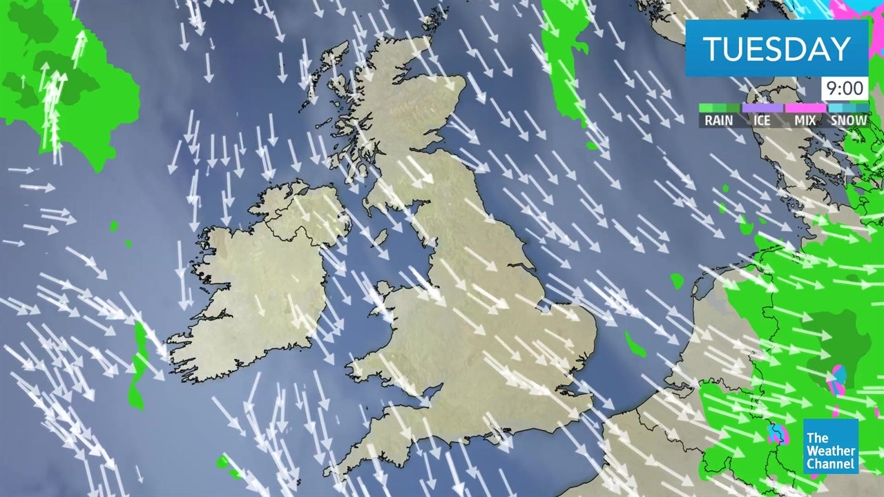 VIDEO: Latest UK weather forecast from January 8 | The Weather Channel