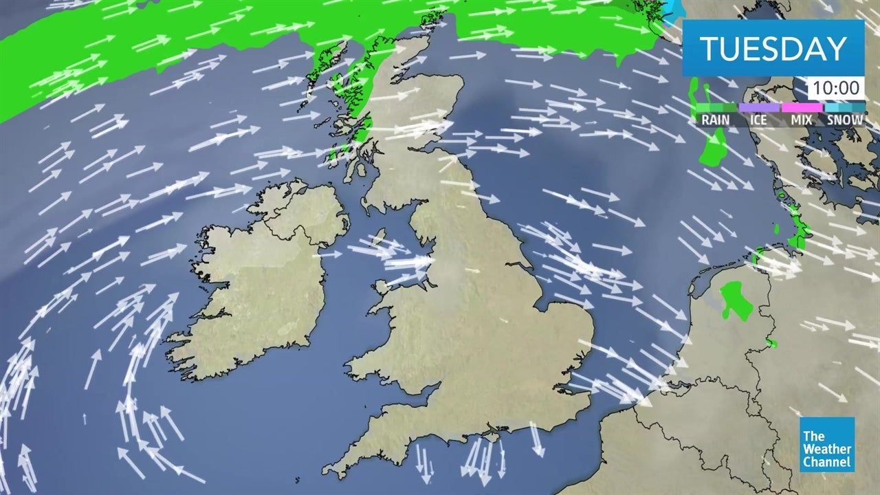 WATCH: Latest UK weather forecast - March 26