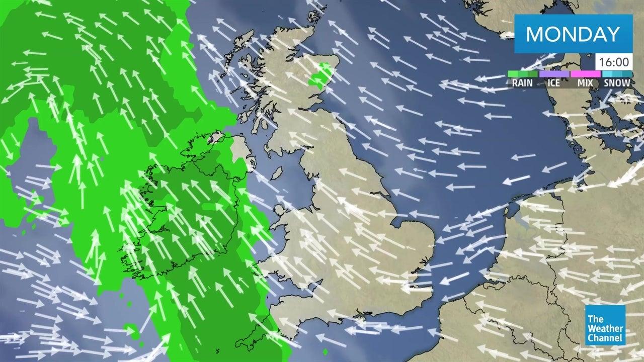 WATCH: Latest UK weather forecast - April 15