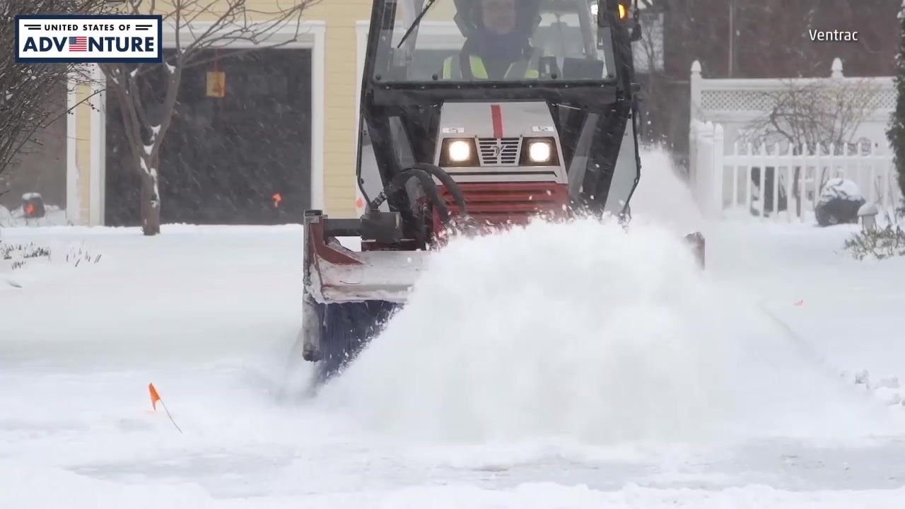 Volunteers Clear Snow For 1,000 Homes
