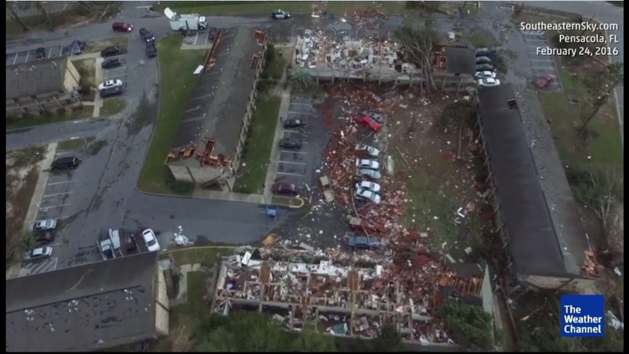 Schockierend: Tornado verwüstet in Florida eine Gemeinde