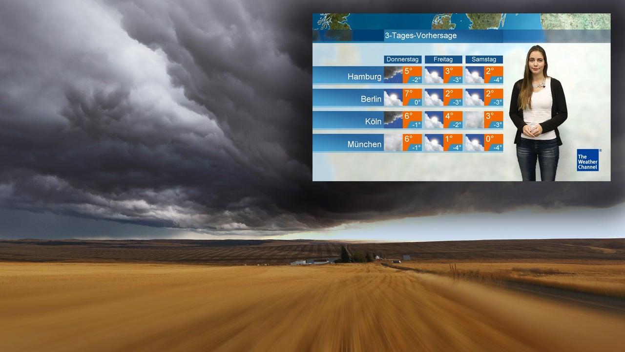 Wetterumschwung bringt Temperatursturz - dann droht Dauerfrost