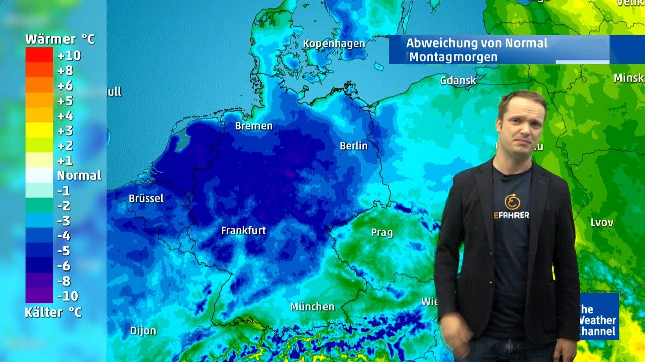 Wetter Heute Nachtfrost Dann Sonnenschein The Weather Channel