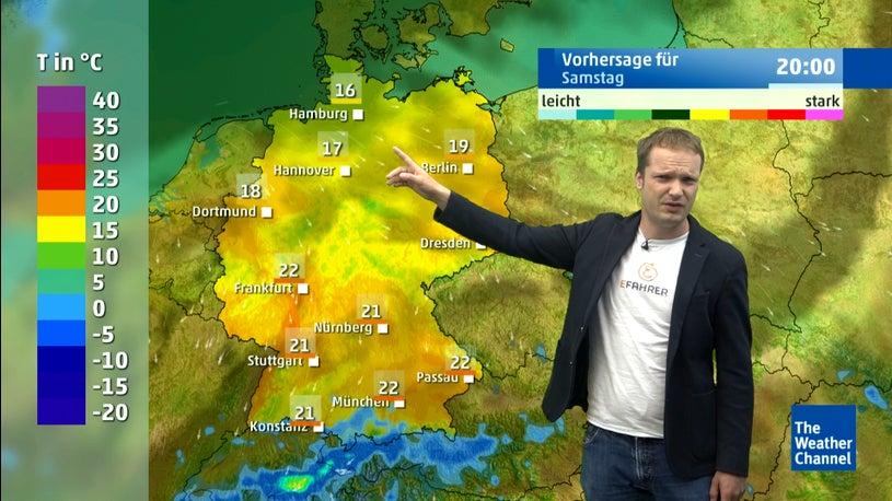 Wetter heute: Freitag warm, dann der Absturz?