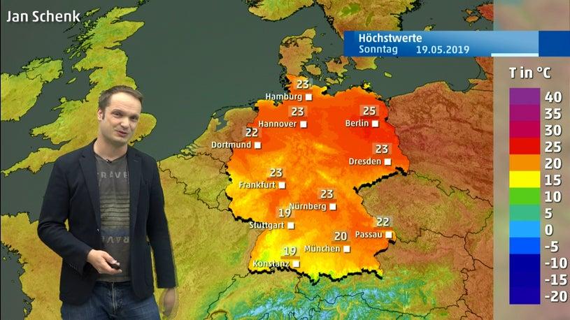 Wetter heute: Endlich wieder warm – aber Gewitter drohen