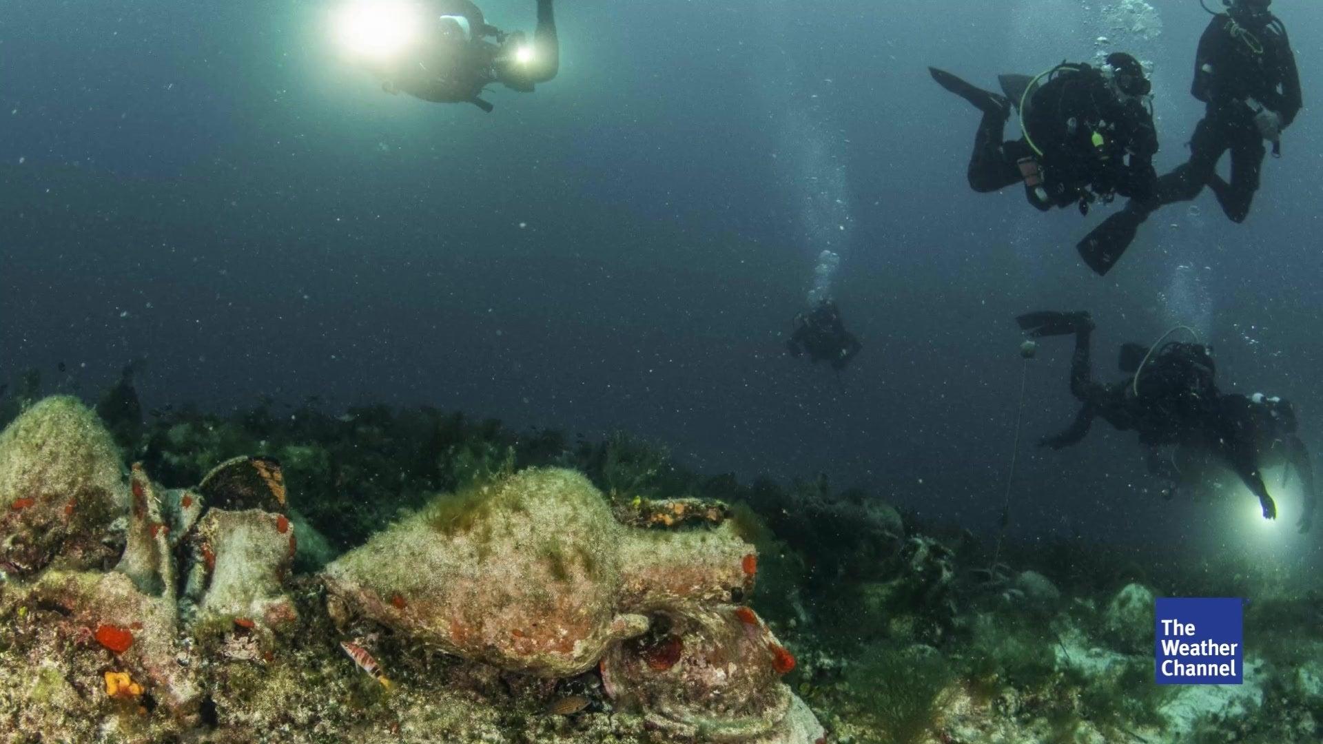 Altes Schiffswrack soll Unterwasser-Museum werden
