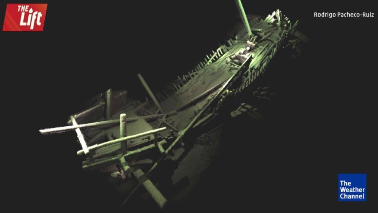 Einzigartiger Schiffsfriedhof  in 1500 Metern Tiefe