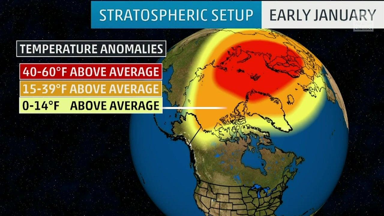 Polar vortex y el frío extremo en EE. UU.