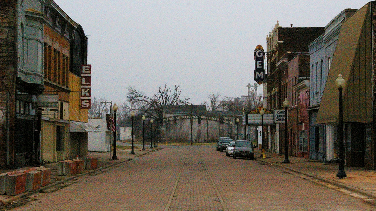 Cairo, IL is a Town That Time Forgot