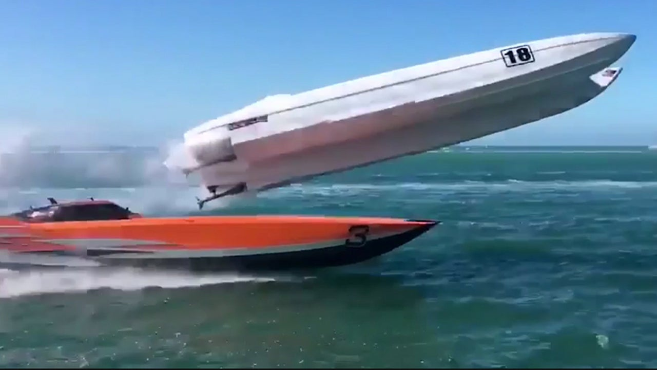 Powerboat Crash Stuns Onlookers