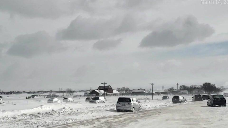 Bomben-Zyklon hinterlässt apokalyptische Szene