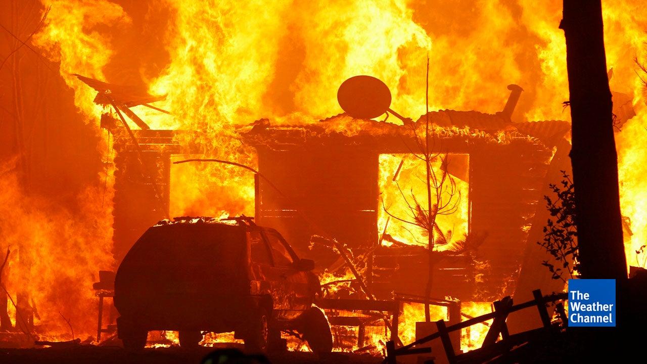 Jahrhundert-Brand wütet in Chile