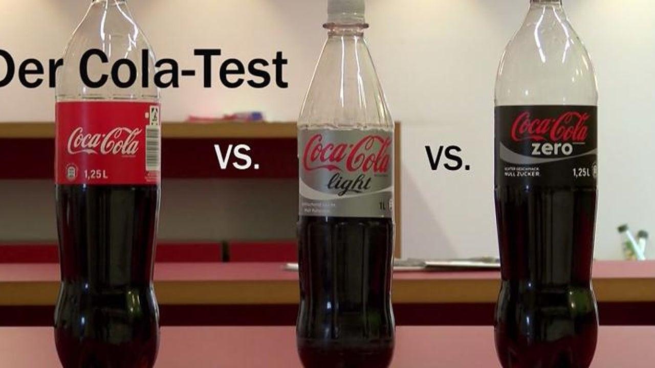 Wie viel Zucker ist in der Coca-Cola Zero?