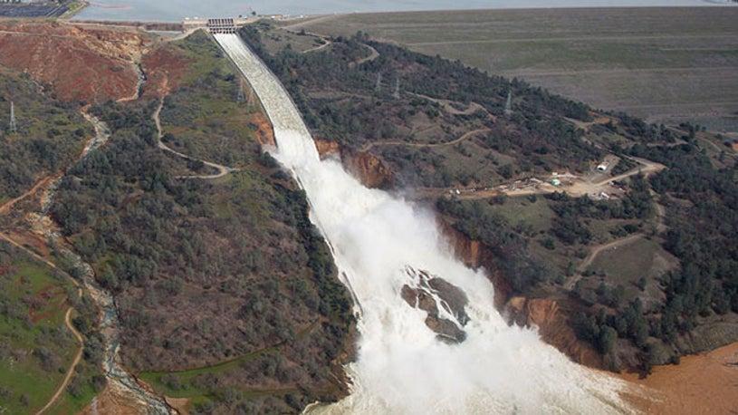 Oroville Dam Update: Water Levels Lower Despite Additional Rainfall