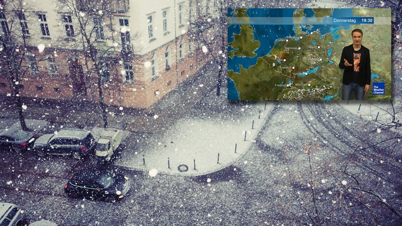 Tief Hinne bringt Sturm und Schnee – dann fallen die Temperaturen
