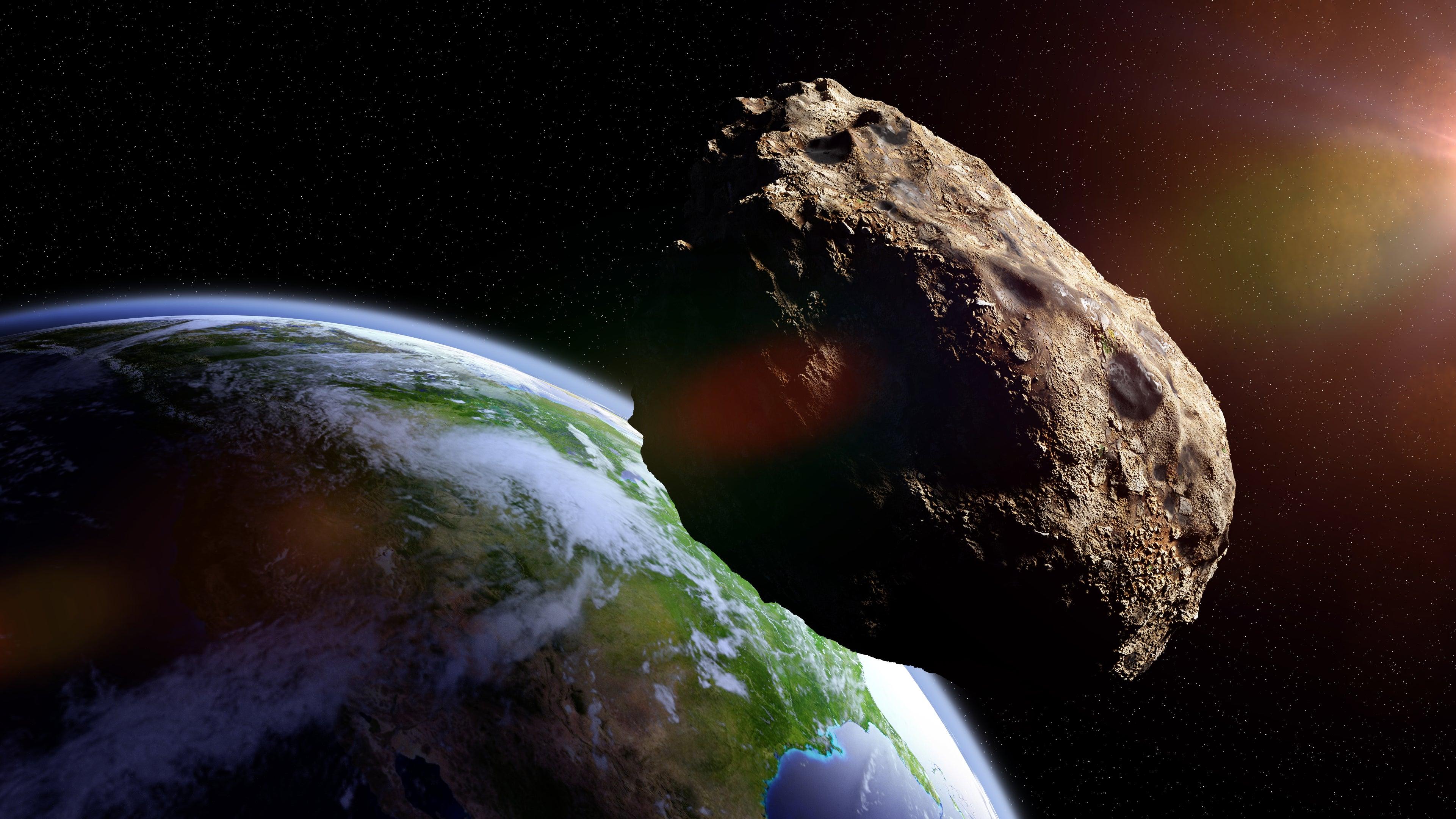 """""""Potentiell gefährlich"""": Doppel-Asteroid rast heute an der Erde vorbei"""
