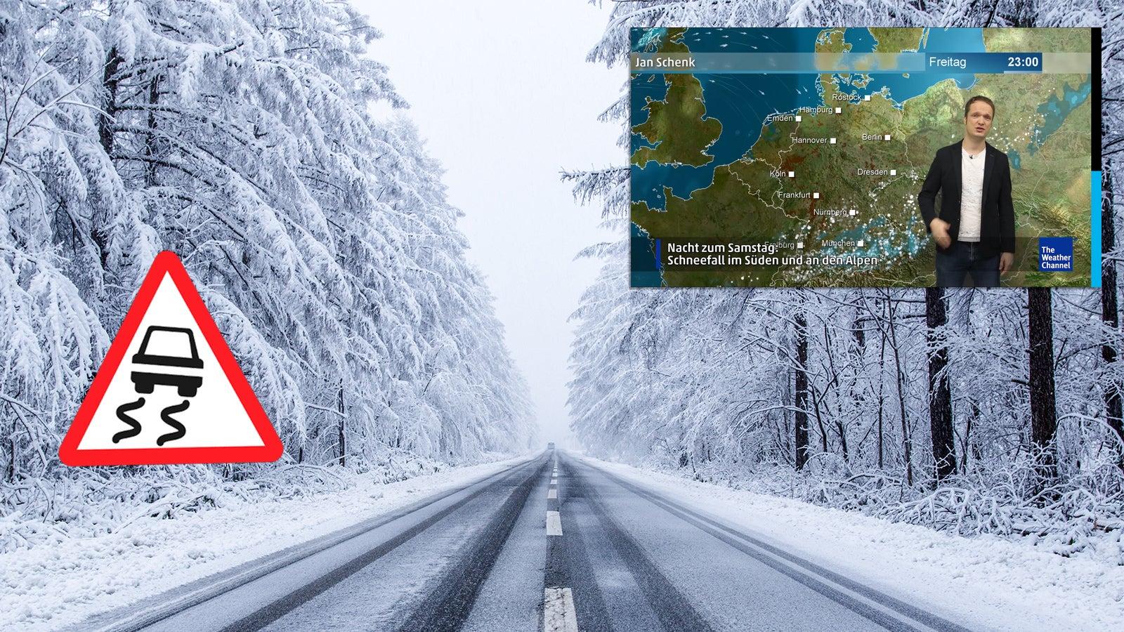 Wetter am Freitag: Gefährliche Glätte, Schnee und Regen