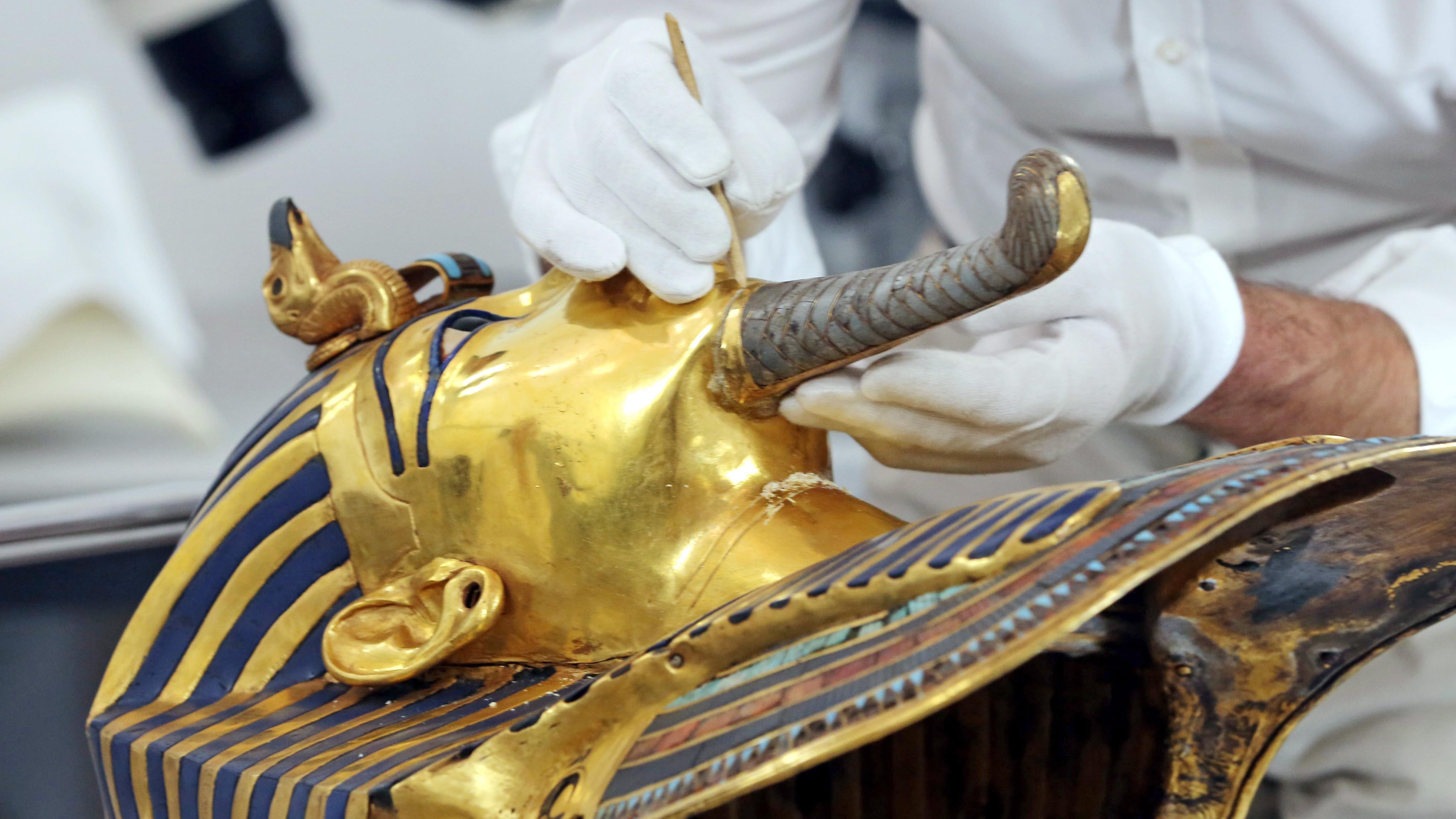 Ägypten: Grabkammer des Kult-Pharaos Tutanchamun neu restauriert