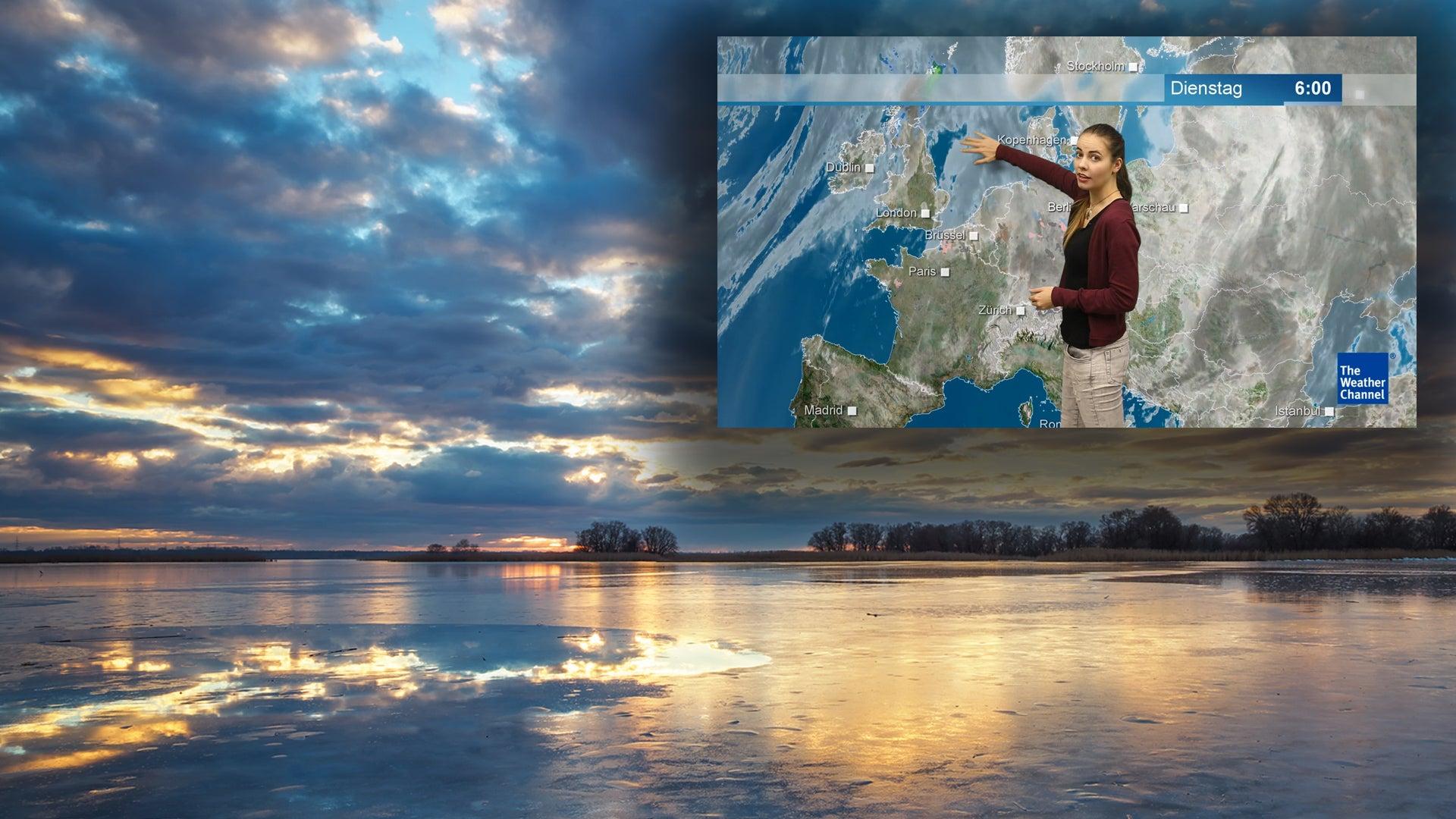 Nordwestströmung bringt Neuschnee und stürmischen Wind