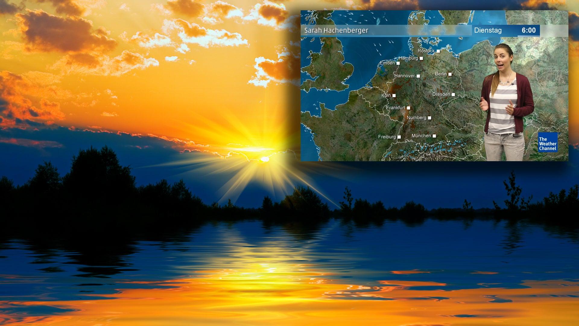 Wetter am Dienstag: Wo die besten Chancen auf Sonnenschein bestehen