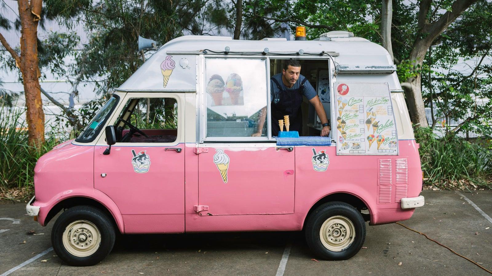 Ende April wurden in London bereits die ersten Verbotsschilder aufgestellt, die die beliebten Eiswagen von den Straßen verbannt.