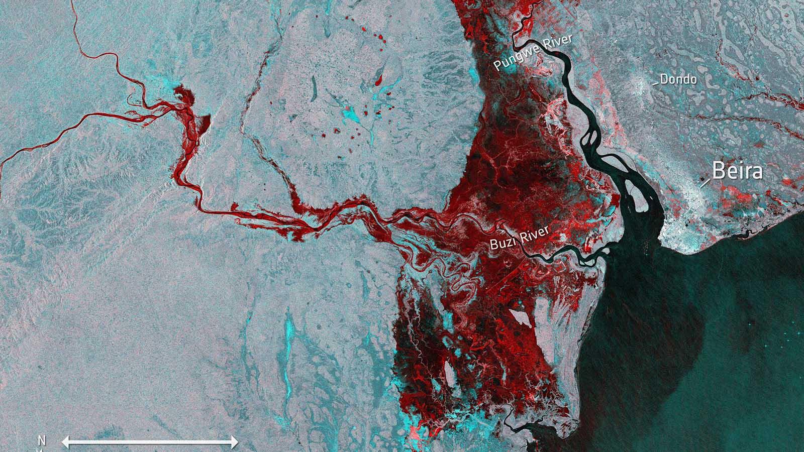 Zyklon Idai könnte historische Ausmaße annehmen