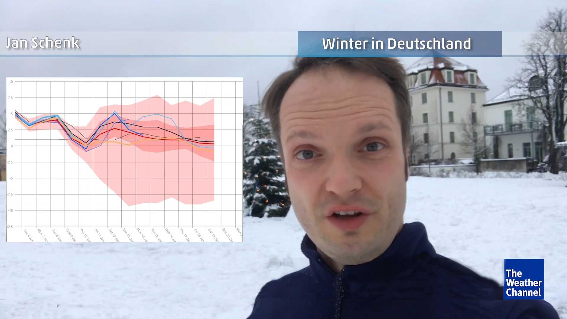 Jetzige Schneefälle sind erst der Anfang - Meteorologe erklärt Grund