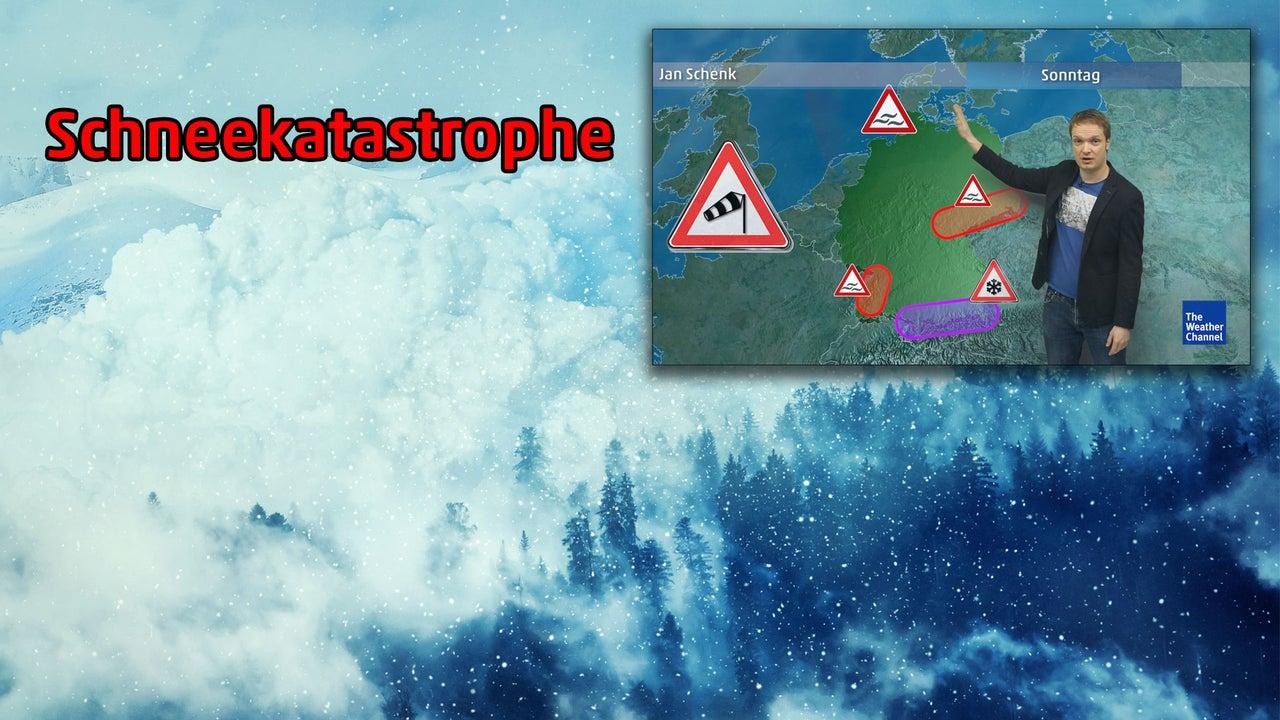 Wetter heute: Sturm Florenz bringt 1 Meter Schnee oder mehr