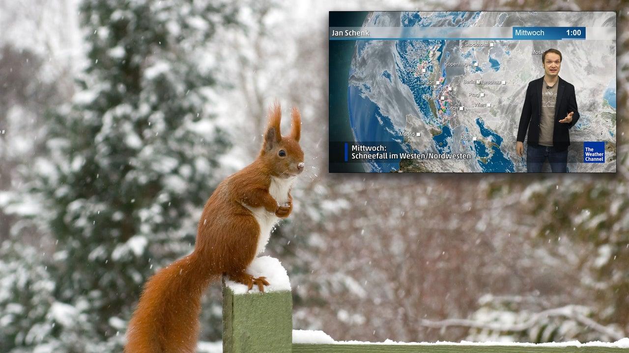 Wetter heute: Schneefall und extrem kalte Nacht
