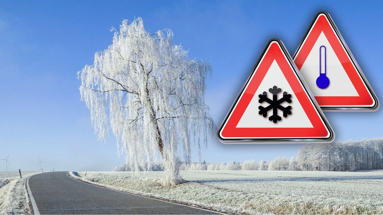 Wo Hoch Brigida am Montag Schnee und Glätte bringt