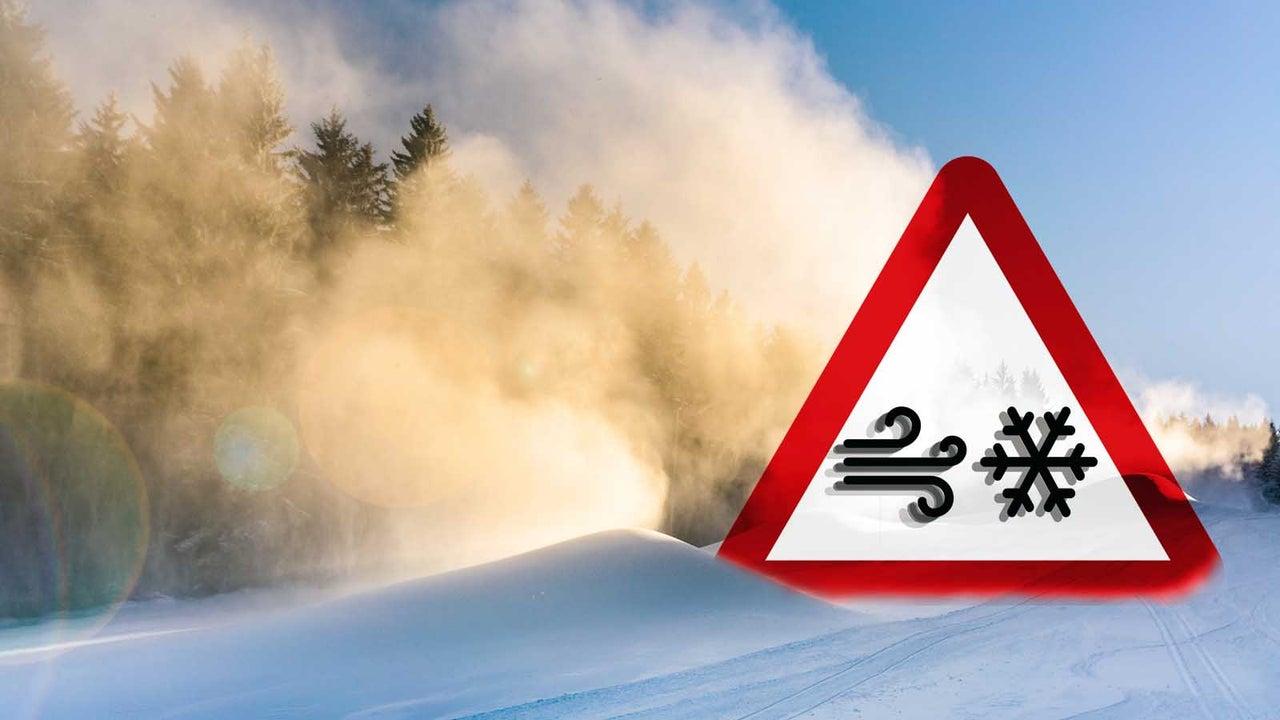 Ab Montag: Schnee, Schnee , noch mehr Schnee