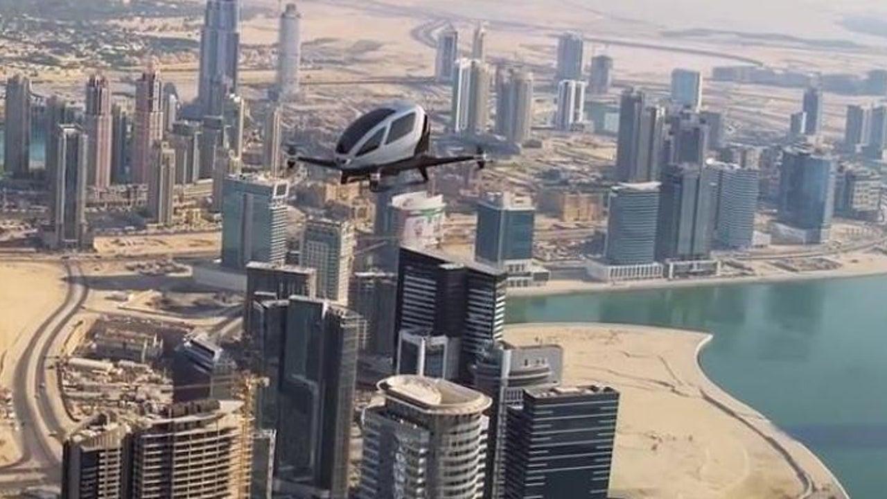 Dubai plant Lufttaxi-Dienst mit Ein-Mann-Drohnen