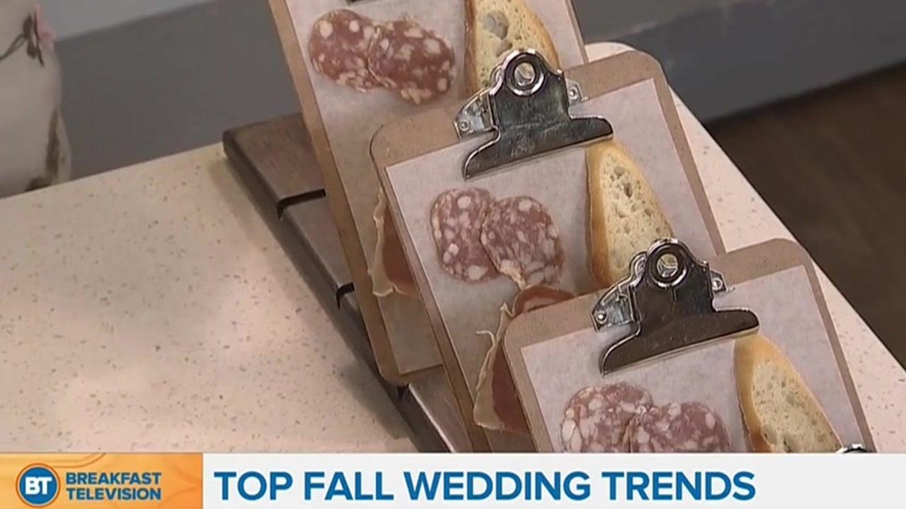 Fall 2017: Top Wedding Trends
