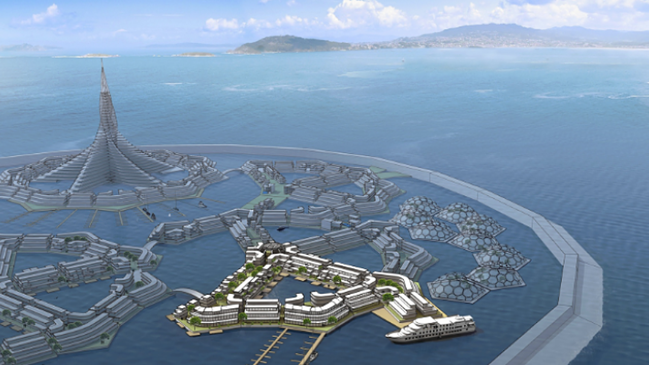 Erste schwimmende Stadt soll 2019 entstehen