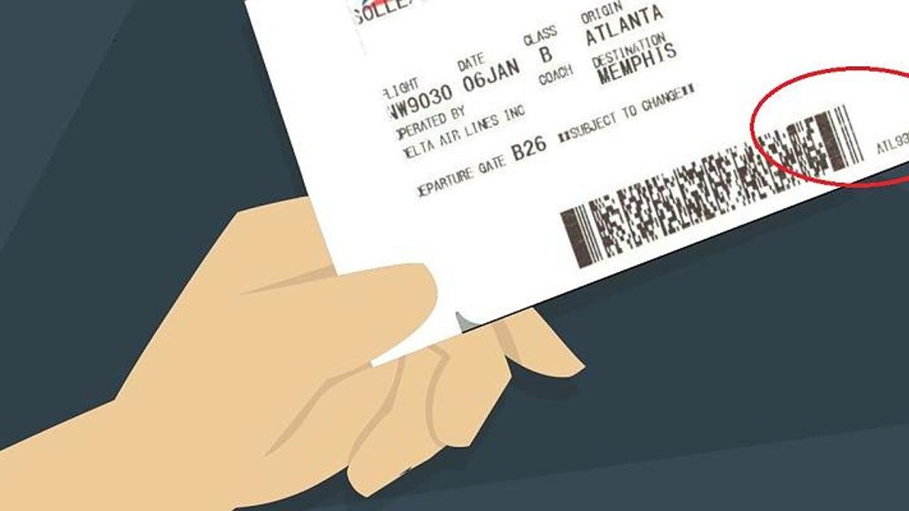 Ein Detail auf Ihrem Flugticket sollten Sie niemals zeigen