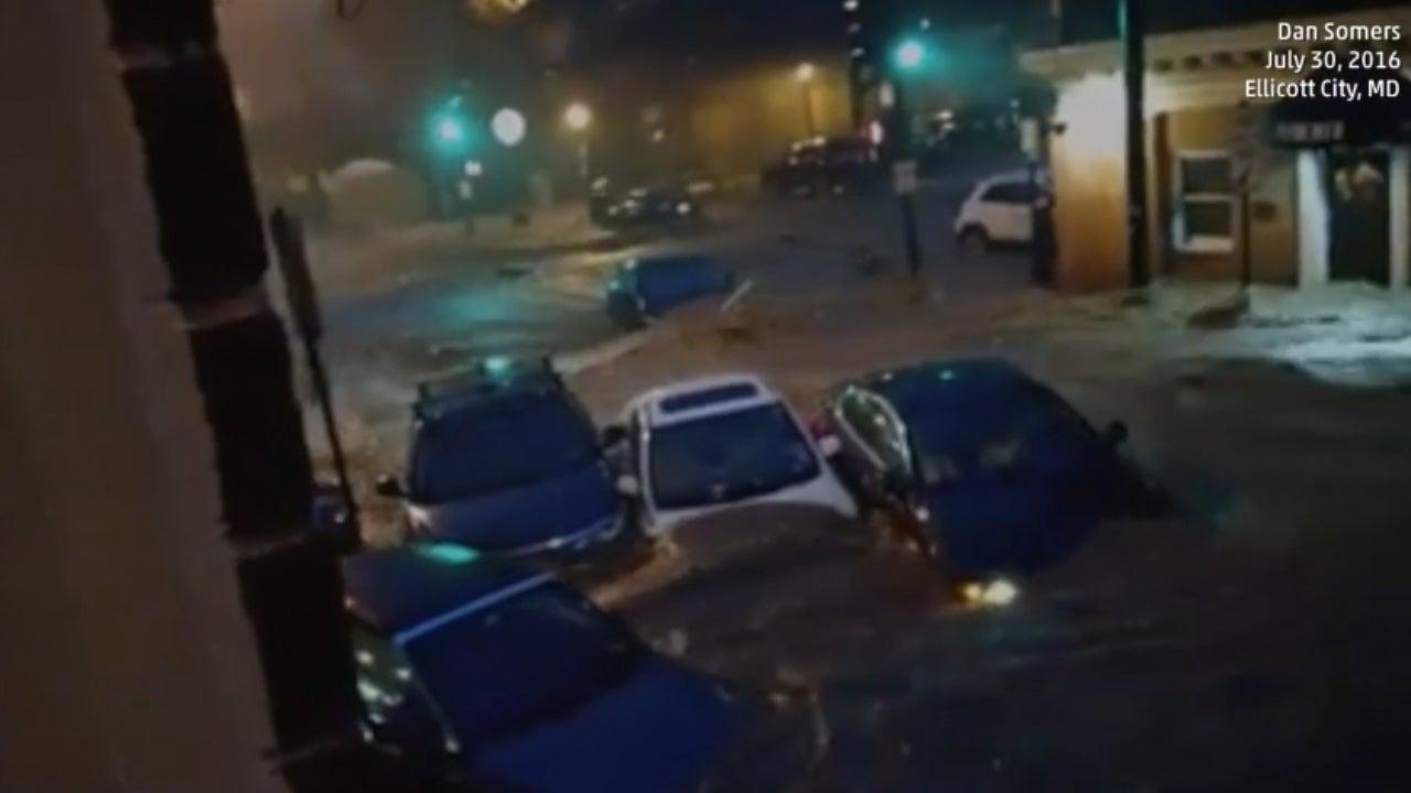 Fluten verwüsten US-Stadt - Zwei Menschen sterben