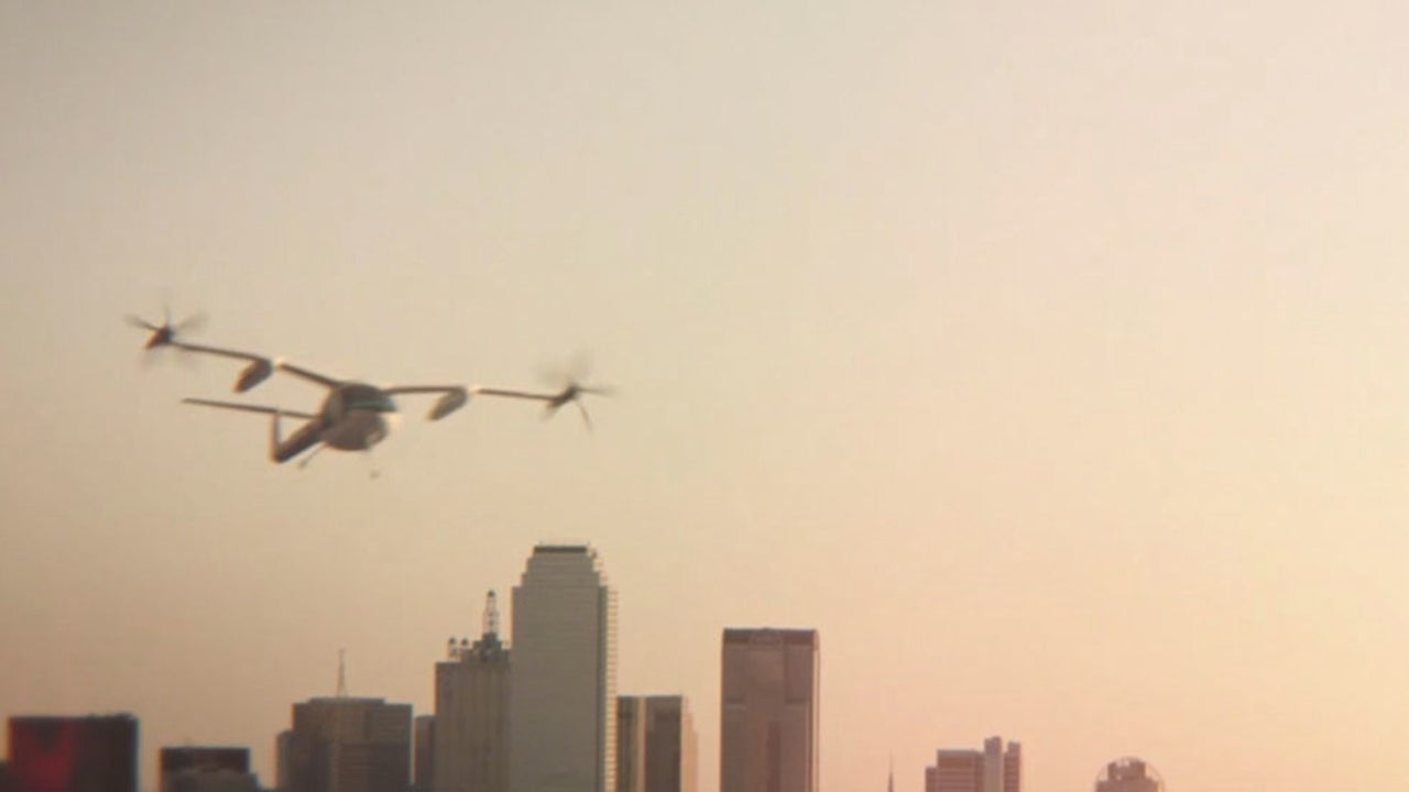 Uber Announces Planned Aerial Taxi Service