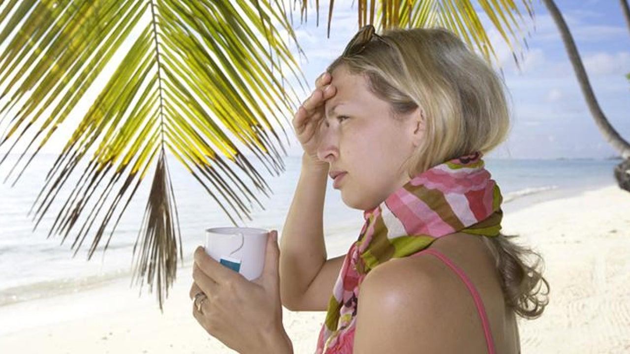 Daran erkranken Deutsche am häufigsten im Urlaub