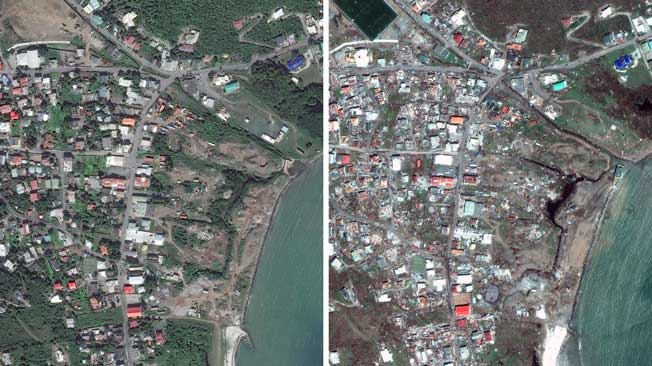before and after images of hurricane irma u0026 39 s destruction in