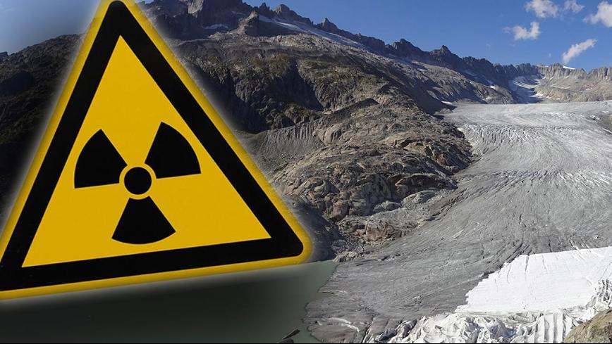 Forscher warnen: Schmelzende Gletscher setzen Radioaktivität frei